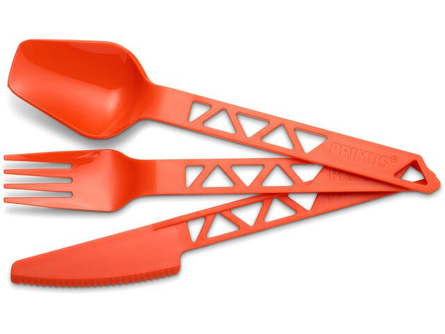 Primus Lightweight Trail Cutlery tangerine
